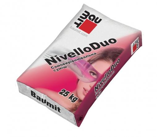 Самовыравнивающаяся смесь Баумит Нивелло Дуо(Baumit NivelloDuo)