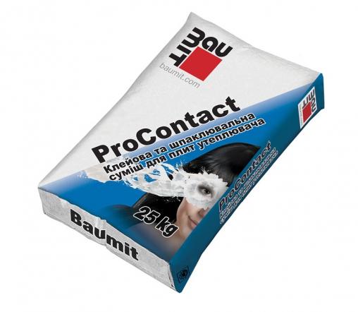 Клеевая шпаклевочная смесь Баумит ПроКонтакт ( Baumit  ProContact)