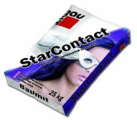 Клеевая шпаклевочная смесь Баумит СтарКонтакт (Baumit  StarContact))