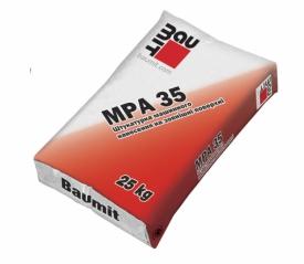 Штукатурка Баумит МПА 35 (Baumit MPA 35)