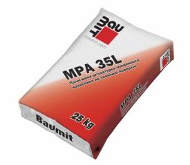 Штукатурка Баумит МПА 35Л облегченная (Baumit MPA 35L)