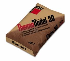 Смесь для кладки Баумит ТермоМёртель 50(ThermoMortel)